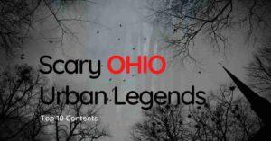 Scary Ohio Urban Legends